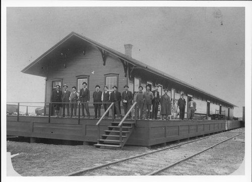 Atchison, Topeka & Santa Fe Railway Company freight station, Lubbock, Texas - Page