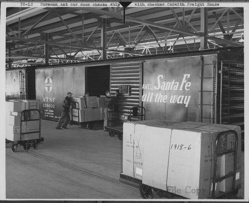 Atchison, Topeka & Santa Fe Railway Company freight house, Corwith, Illinois - Page