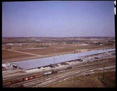 Atchison, Topeka & Santa Fe Railway Company freight house, Argentine, Kansas - Page