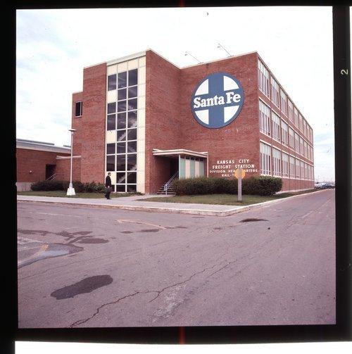 Atchison, Topeka & Santa Fe Railway Company freight office, Argentine, Kansas - Page
