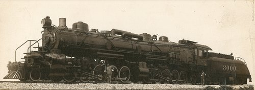 Atchison, Topeka and Santa Fe Railway Company's steam locomotive #3000 - Page