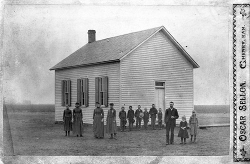 One-Room School House, Sedgwick, County,  Kansas - Page