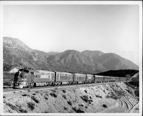 Atchison, Topeka & Santa Fe Railway Company's chief, Cajon Pass, California - Page