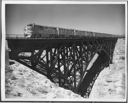 Atchison, Topeka & Santa Fe Railway Company's chief, Winslow, Arizona - Page