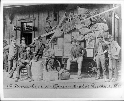 Wells Fargo & Company Express, Guthrie, Oklahoma - Page