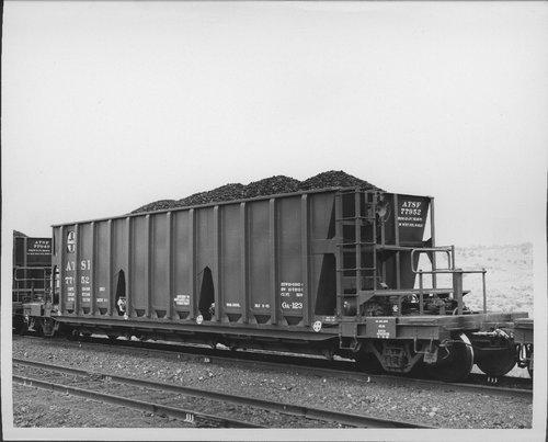 Atchison, Topeka & Santa Fe Railway Company coal hopper - Page