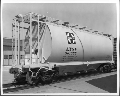 Atchison, Topeka & Santa Fe Railway Company hopper car - Page