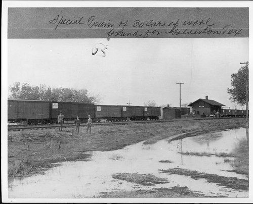 Atchison, Topeka and Santa Fe Railway Company depot, Belen, New Mexico - Page
