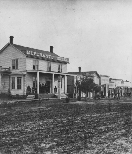 Merchants Hotel, Abilene, cowtown on the Chisholm Trail