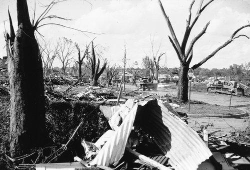 Tornado damage, Topeka, Kansas - Page
