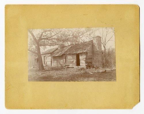 Abraham Burnett's log cabin, Topeka, Kansas - Page