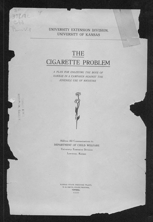The cigarette problem - Page