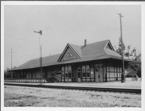 Atchison, Topeka and Santa Fe Railway Company depot, Cucamonga, California - Page