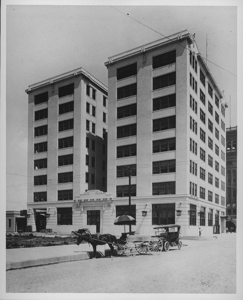 Atchison, Topeka and Santa Fe Railway Company's union depot and office building, Galveston, Texas - Page