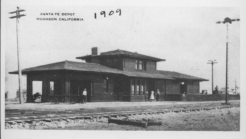 Atchison,Topeka & Santa Fe Railway Company depot, Hughson, California - Page