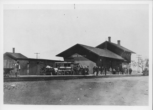 Atchison, Topeka & Santa Fe Railway Company depot, Las Cruces, New Mexico - Page