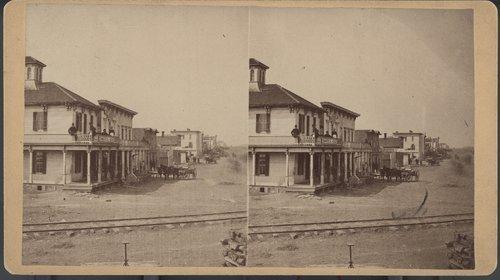 Street scene, Peabody, Kansas - Page