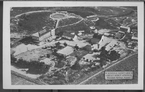 Waconda Springs as a Mitchell County Resort, Kansas - Page