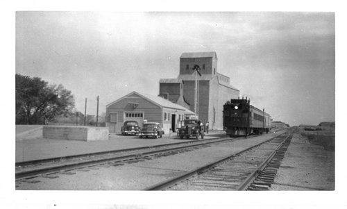 Union Pacific Railroad Company depot,Hoxie, Kansas - Page