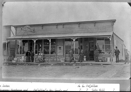Montgomery Hardware store in Hoxie, Kansas - Page