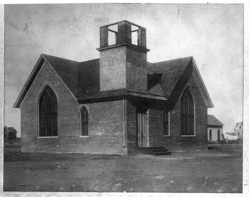 Christian Church in Hoxie, Kansas - Page
