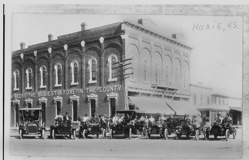 Automobiles in Hoxie, Kansas - Page