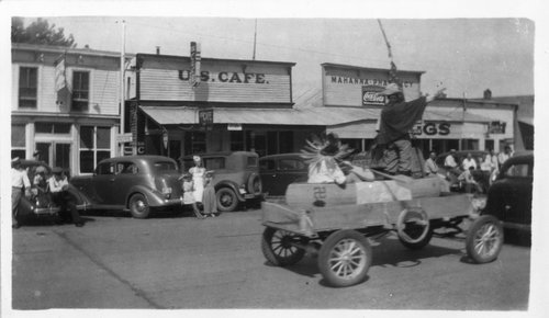 Parade in Hoxie, Kansas - Page