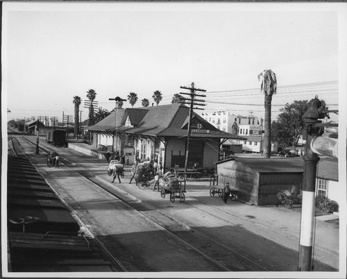 Atchison,Topeka and Santa Fe Railway Company depot, Oceanside, California - Page