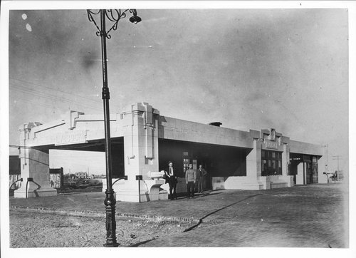 Atchison, Topeka and Santa Fe Railway Company depot, Lubbock, Texas - Page