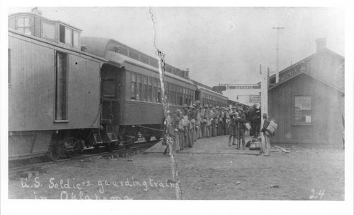 Atchison, Topeka & Santa Fe Railway Company depot, Guthrie, Oklahoma - Page