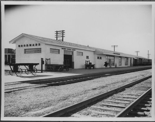 Atchison, Topeka & Santa Fe Railway Company station, Woodward, Oklahoma - Page