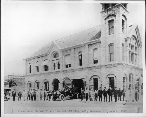 City Hall, Arkansas City, Kansas - Page