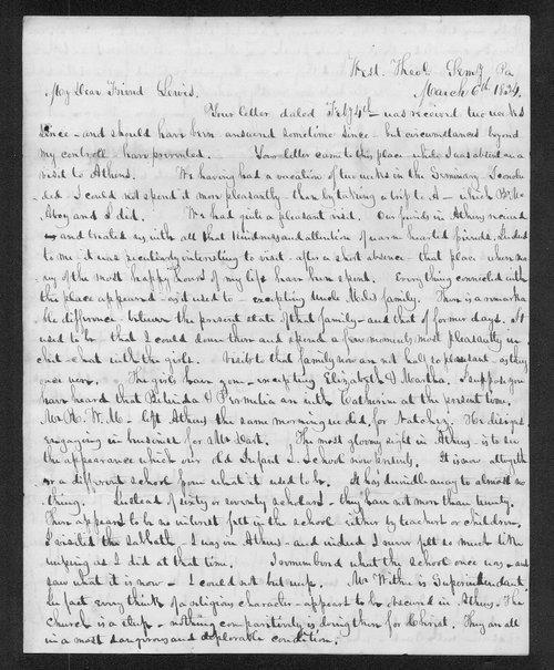 Ebenezer Buckingham to Lewis Allen Alderson - Page
