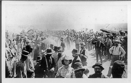 Cherokee Strip land run, Arkansas City, Kansas - Page