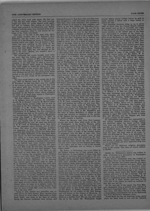 70th anniversary edition supplement to the Washington County Register - Page