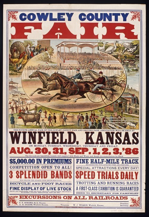 Cowley County fair, Winfield, Kansas - Page