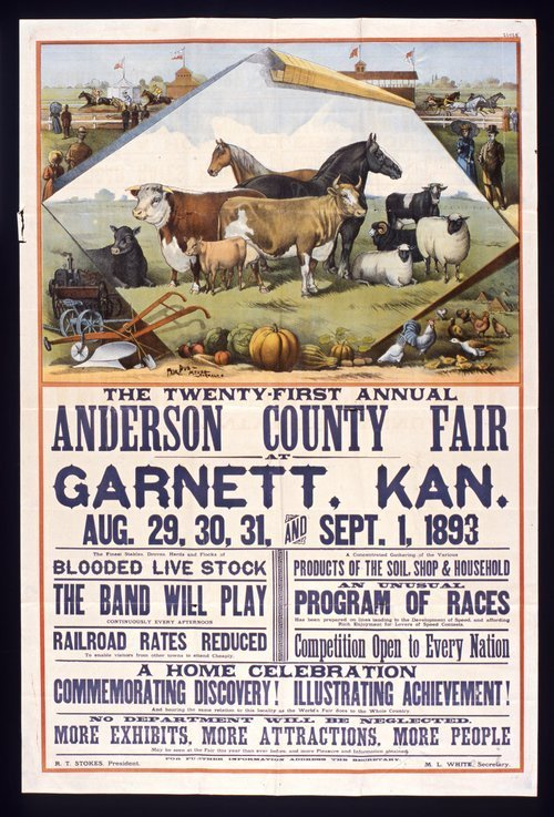The twenty-first annual Anderson County fair - Page