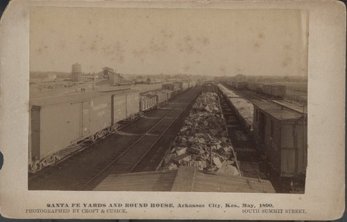 Atchison, Topeka & Santa Fe yards and round house - Page