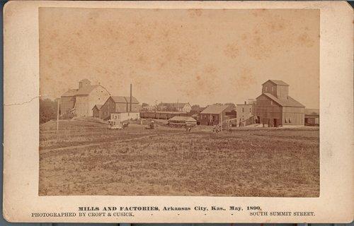 Mills and factories, Arkansas City, Kansas - Page