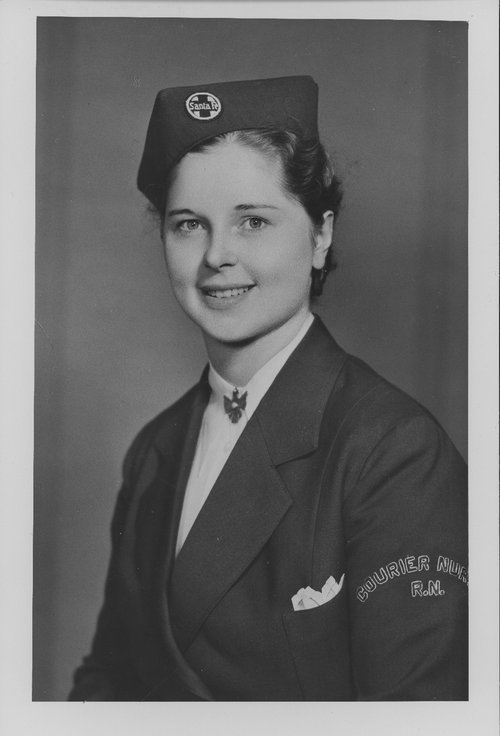 Dorothy Thegerstrom, Santa Fe courier nurse - Page