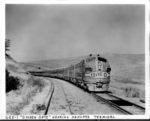 Atchison, Topeka &  Santa Fe Railway's Golden Gate, Oakland, California - Page