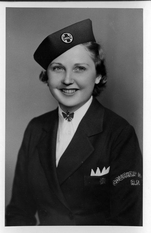 Thelma Claussen, Santa Fe Courier Nurse - Page