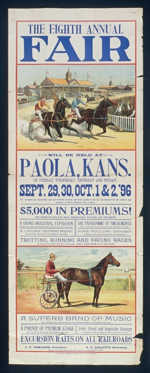 The eighth annual fair, Paola, Kansas - Page