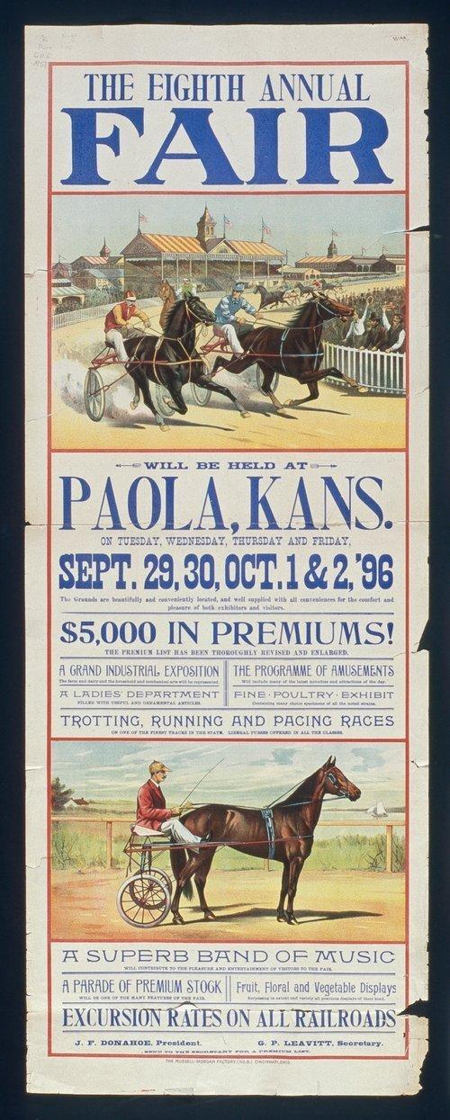 The eighth annual fair, Paola, Kansas - Page