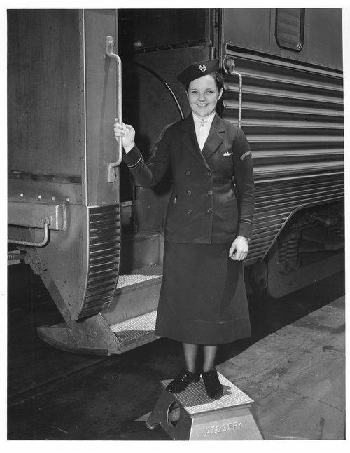 Harriet M. Harkness, Santa Fe courier nurse - Page