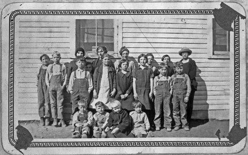 Immanuel Lutheran School students, Sheridan County, Kansas - Page