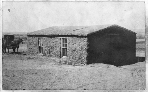 Grandma Hoch sod house in Sheridan County, Kansas - Page