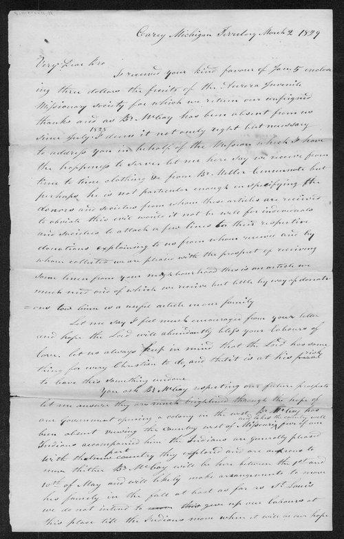 Robert Simerwell to T.L. Holman - Page