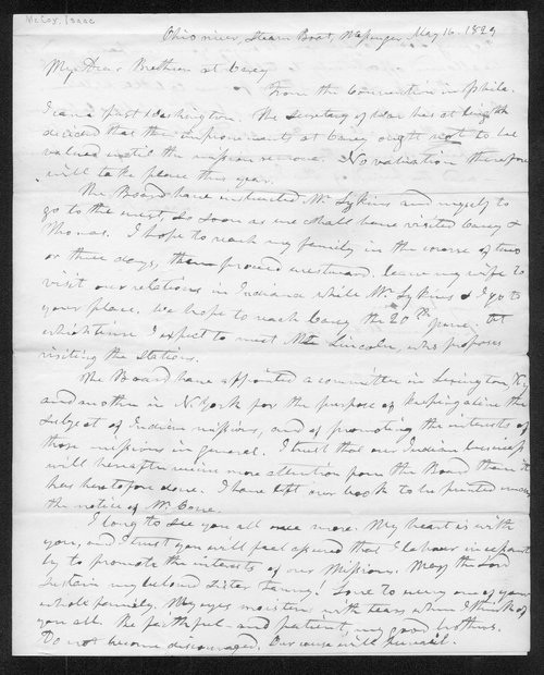 Issac McCoy to Robert Simerwell and J. Bay - Page