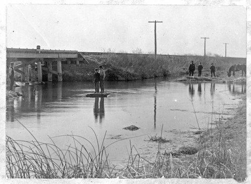 Railroad bridge in Sheridan County, Kansas - Page